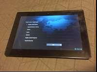 Selling a Sony Android tablet I received however barely