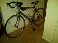 I am selling my specialized road bike, as I will be