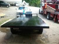 8ft x 16 ft Hydraulic Dump trailer with electric brakes