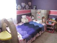 I am selling my daughters princess castle bed. It is a