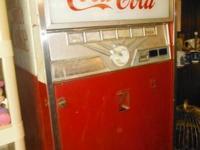 Genuine 1960 COCA-COLA Selling Equipment. Lighting &