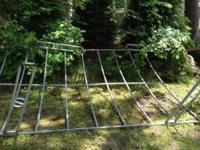 8 feet by11 feet pontoon awning frame,1988,