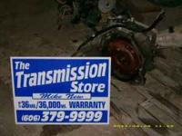 This transmission is out of a 2000 Ford Windstar. The