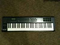I am selling my axiom 67 midi keyboard. It is used but