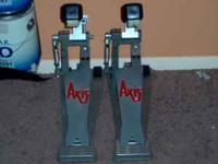 1 pair of gently used Axis AX-A drum pedals. These are