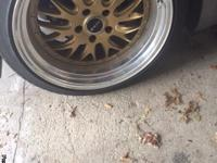 I have a set of 19inch Axis Rev Rims. The rims come