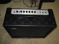 AXL Rapture amplifier for musical instruments. Model is