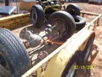 I have set of front and rear axles that are 355 gear, 2