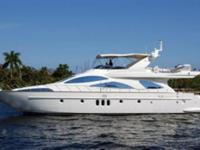 Builder: Azimut, LOA: 78 ft 8 in, Beam: 6 ft 7 in, LWL: