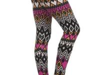 Tribal, basic leggings with an elastic waistband. 92%