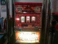 Slot machine can be converted to coin or token. Great
