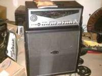 Great amp can run on tubes or solid state. Real good