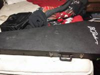 Hello, I am selling my B.C. Rich casket case. This