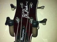 I have a B.C Rich Masterpiece mockingbird bass 4 string