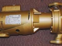 Bell & Gossett 60 series bronze body pump model B606 in