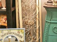 $25 each - ivory metal wall plaques  Located at 5710