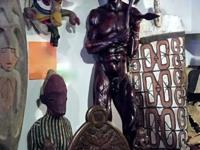 B. Ndudzo, Master Sculpture Female, Male Figure Zulu