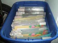 I HAVE AT LEAST $800.00 WORTH OF SCRAPBOOK SUPPLIES