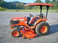 04' B2710 Kubota 4WD Tractor, 27 hp Diesel, Power