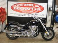 This 2013 Suzuki Boulevard M50 is a contemporary