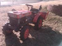 I have a great B6000 4wd Kubota tractor with 4 foot