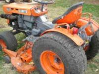 This is a really nice tractor kubota b7100hst w/5'