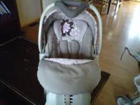 Cash Only. Used Strolller and Carseat. Design is