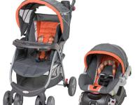 The Babies R Us Pioneer Travel System in Mirage fashion