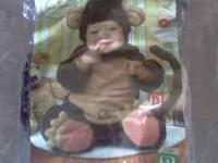 I have an adorable 6-12 month monkey costume that my