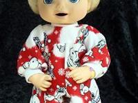 Shop AdorableDollClothes.com for Baby Alive Clothes &
