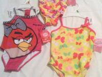 I have new bathing suites with tags angry bird size 2 T