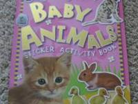 I am selling a Baby Animals Sticker Activity Book for