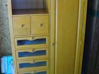 Top of the line Baby Armoire by Jardine. Retailed at