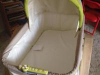 Like new!!! Clean baby basinet for sale! Haven't had it