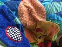 Bassinet or Bed Net nice no holes. banana fish Bumper