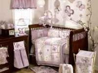 Like new baby bedding/bedroom decoration set. In great