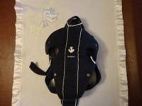 Baby Bjorn Original Baby Carrier. Nautical Version.