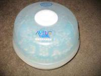 AVENT MICROWAVE STEAM STERILIZER. WORKS EXCELLENT!!!