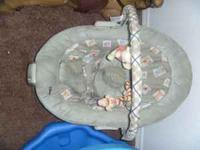 BABY POOH BOUNCER $25 obo  Location: MERCED