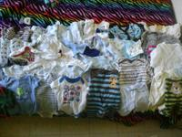 CHILD CLOTHES LOT sizes vary from 0-6 months old. 19