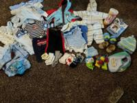 Newborn to 6 month bundle all very good condition.