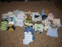 INFANT BOY clothes from 0-3 and 3-6 and 6-9 ... ... ...