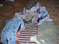 gently baby clothes for sale, smoke and pet free, have