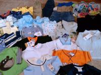 This is a Lg. LOT of baby boy clothing size 12-24