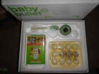 I have a baby food maker for sale. U make baby food and