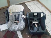 I have this baby car seat is been used but is in good