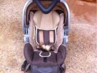 Car Seat and Stroller $20.00 each six months old used