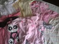 Boy Onesies-2 Newborn Girl Onsies-8 5-8pounds 34