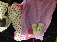 Mostly girl baby clothes. Boy set include. Prices