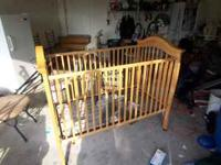 Very nice Renaissance baby crib. $125 cash only call